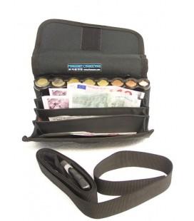 Sacoche Euro Wallet pour billets et pièces (barillet)
