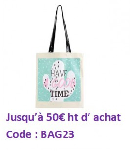 "Sac shopping ""TOTE BAG"""
