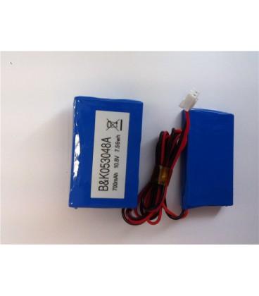 Batterie rechargeable pour détecteur DP2158
