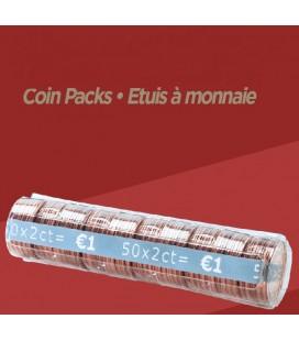 Rouleaux à monnaie pour 0.02 cts X100
