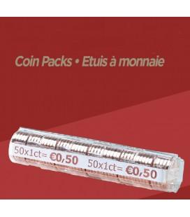 Rouleaux à monnaie pour 0.01 cts X100