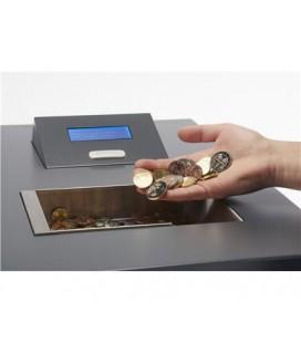 Compteuse valorisatrice de pièces de monnaie en libre-service