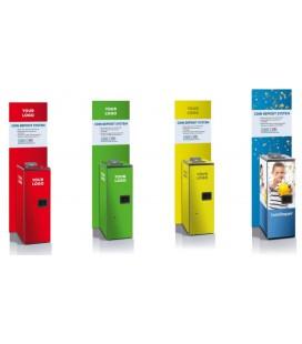 Recycleur de pièces de monnaie - Deposit euro