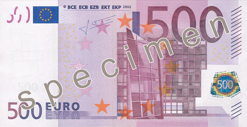 BILLETS DE 500